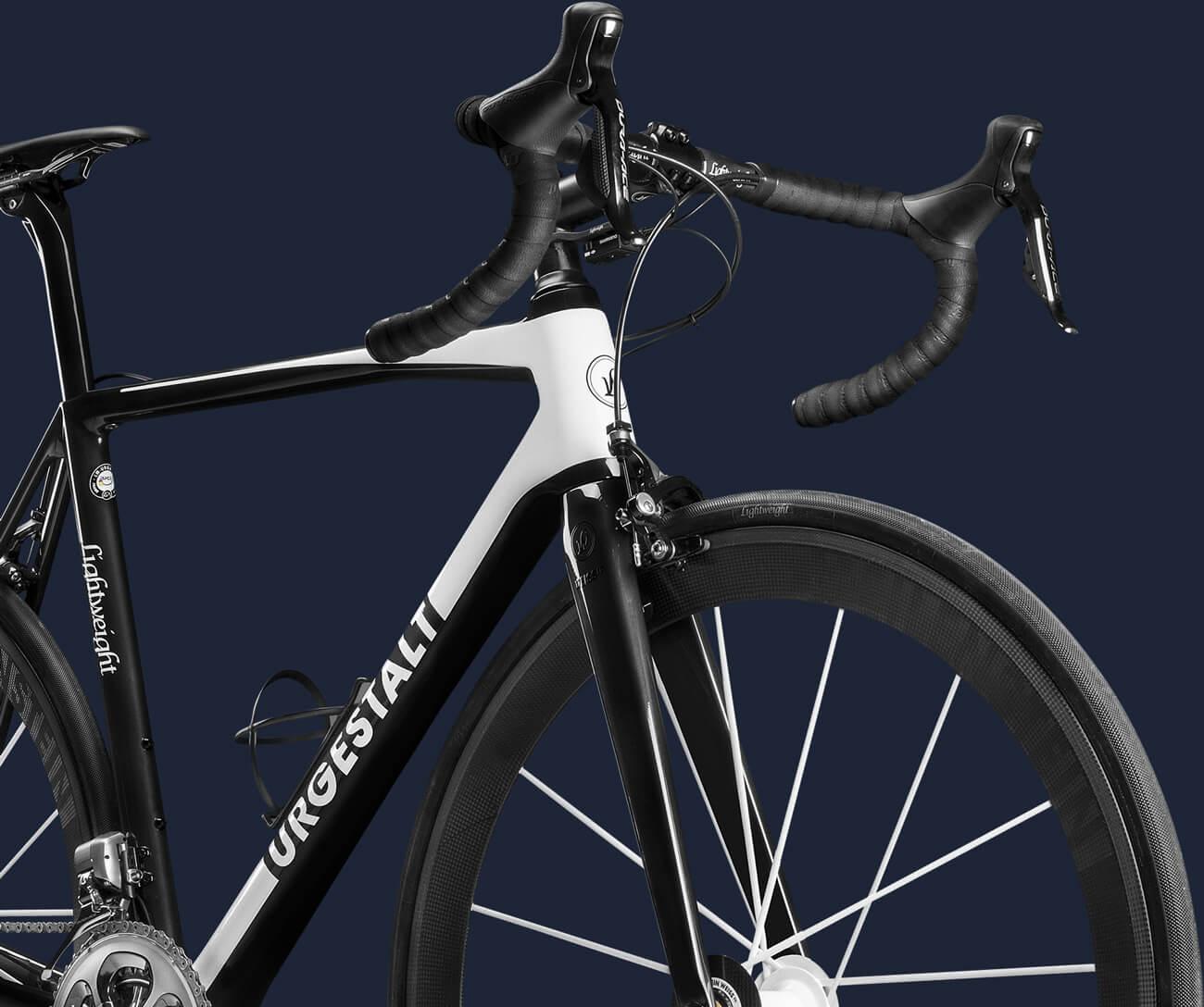 Freistellen Bildbearbeitung Fahrrad Halbprofil