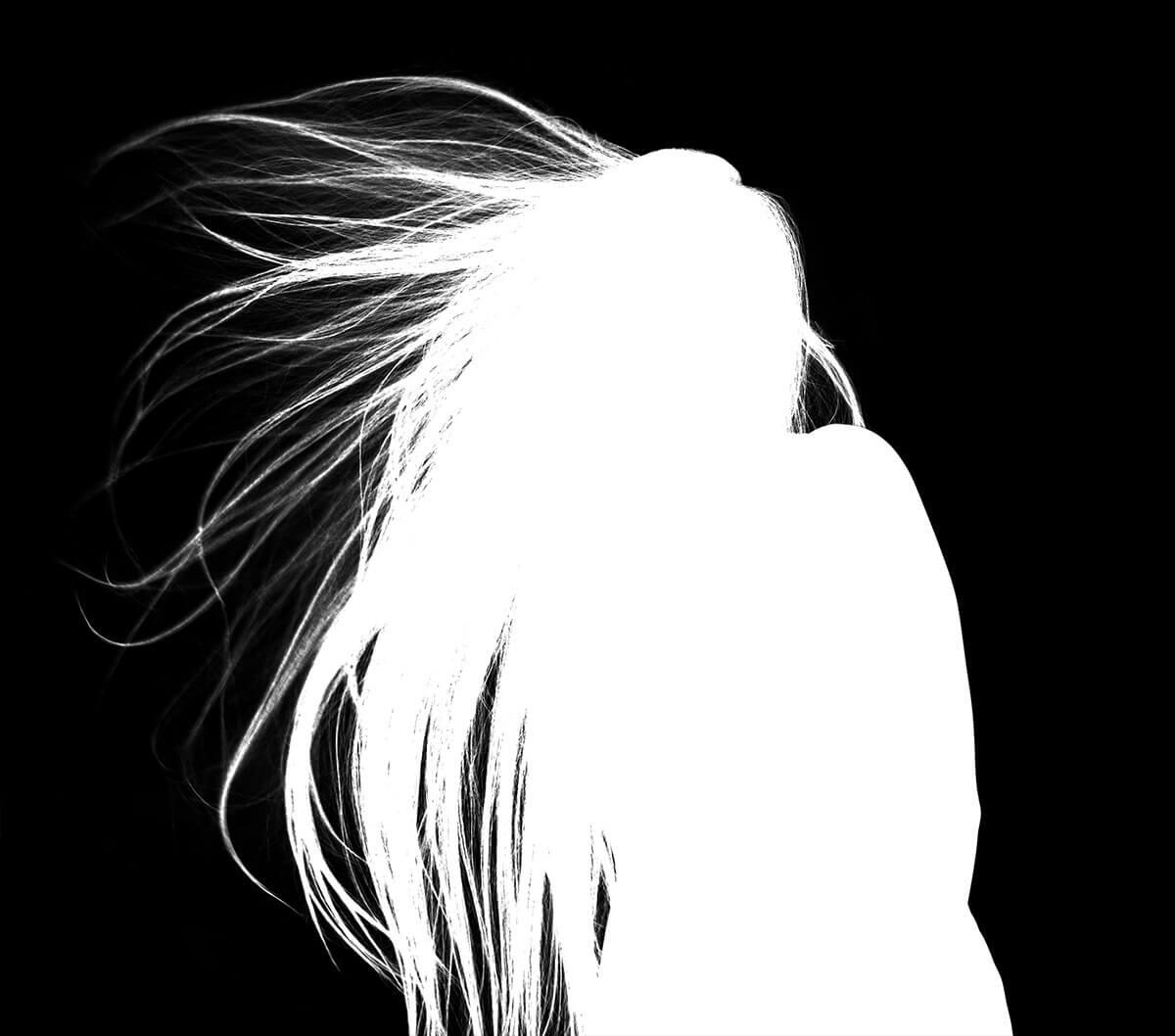 Freistellen Bildbearbeitung Haare Alphamaske