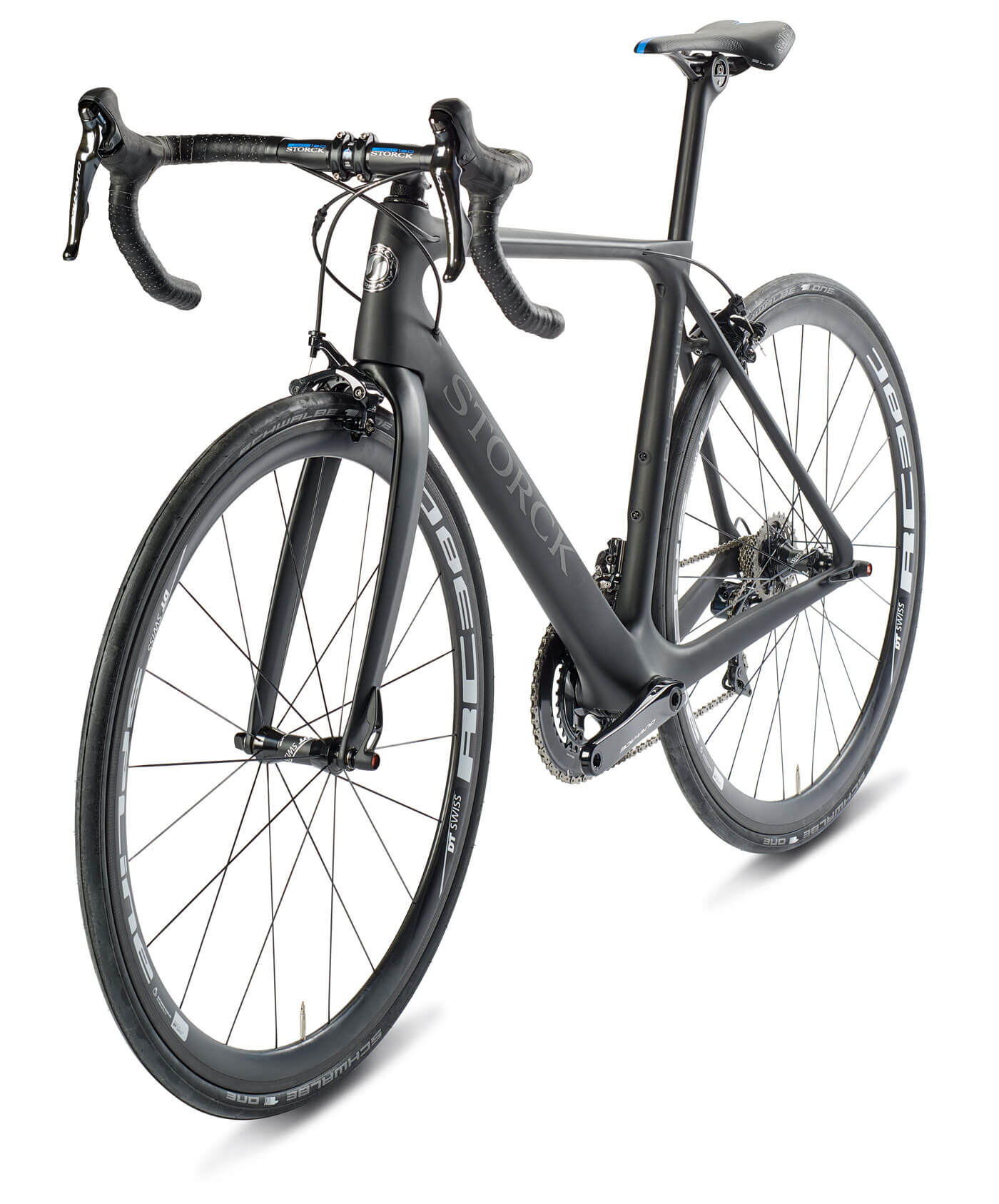 Freistellen Fahrrad Reifen Storck schwarz Schatten
