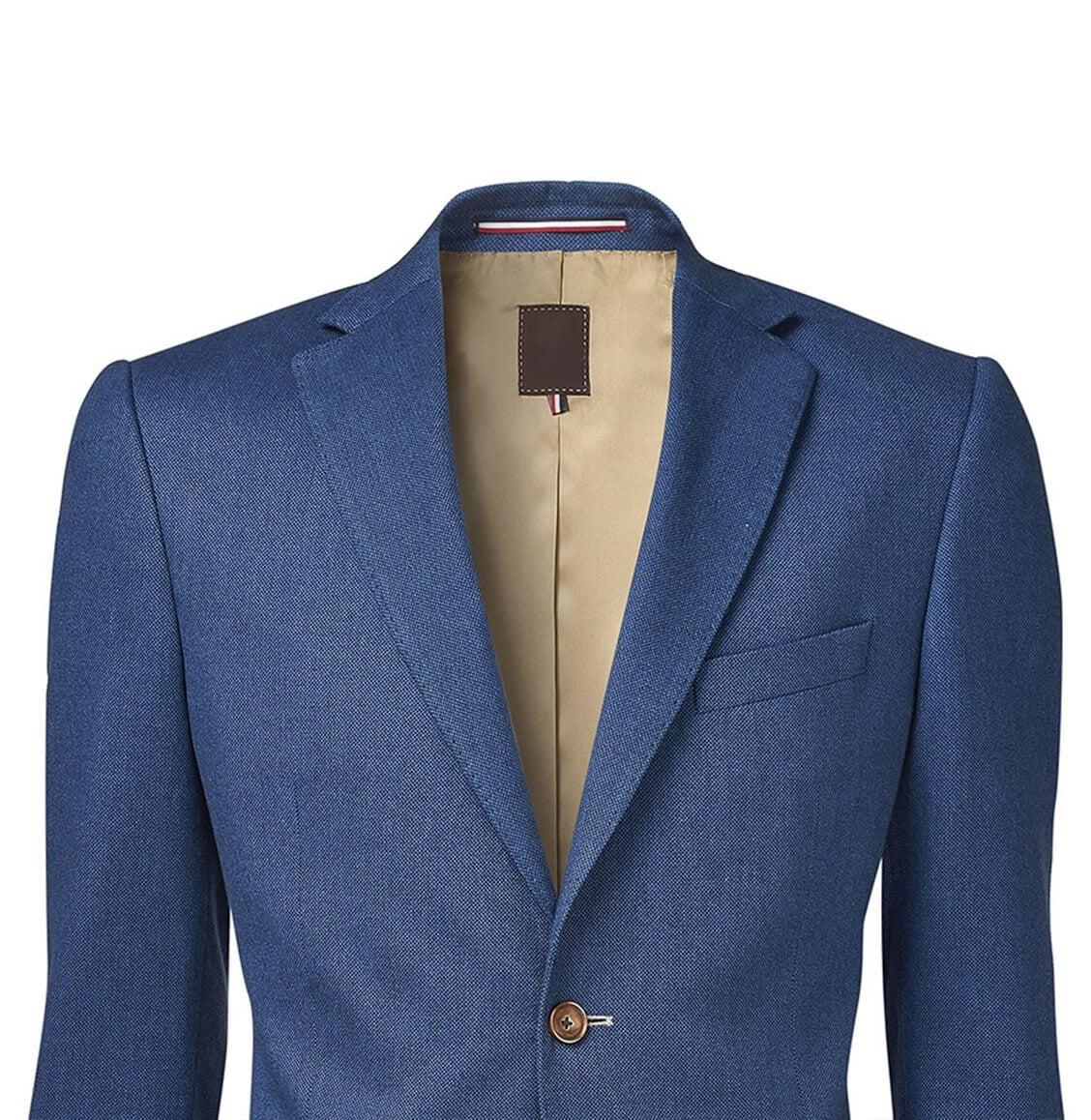 Freistellen Hollow Man Montage Jacket blau