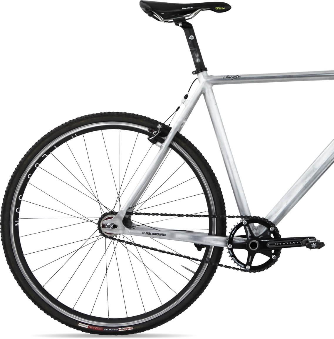 Freistellen Bildbearbeitung Fahrrad Hinterrad