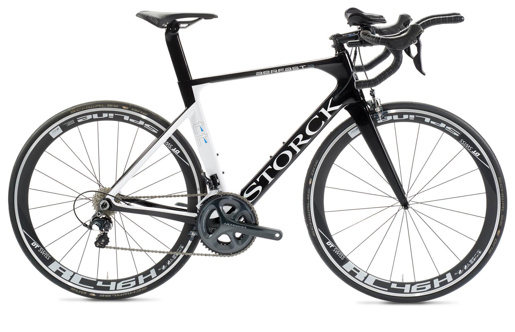 Freistellen Fahrrad Storck schwarz weiß Schatteneffekt