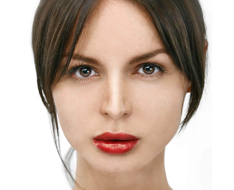 Freistellen Bildbearbeitung Frau Beauty Retusche