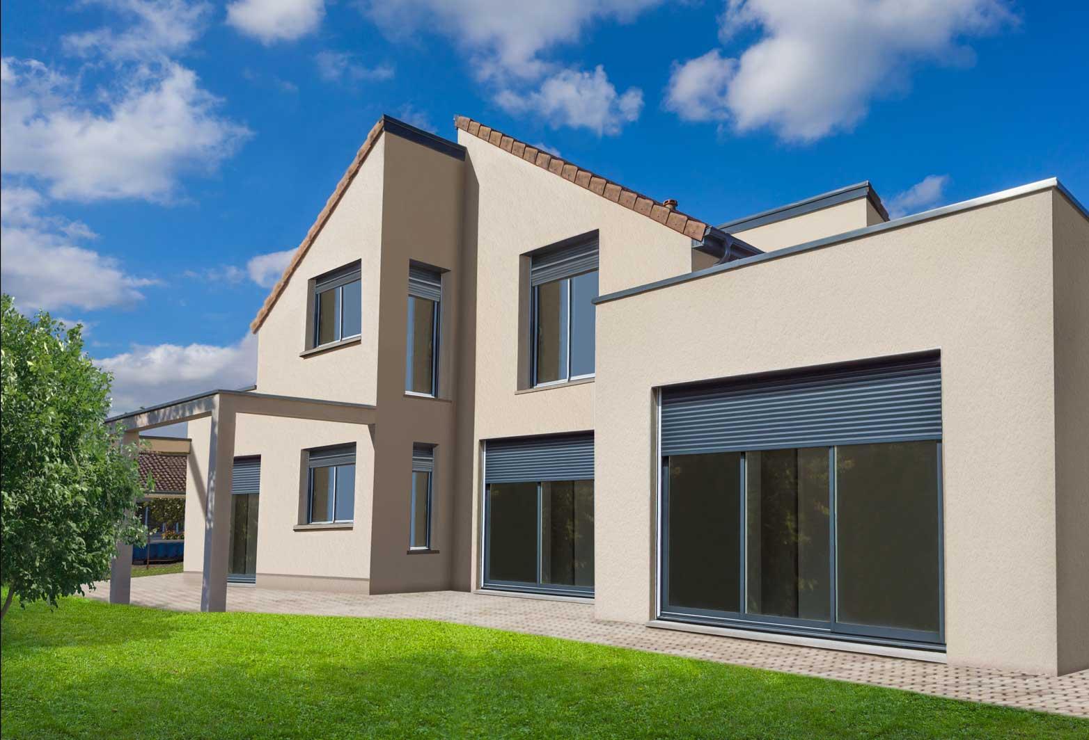 Immobilien Bilder verbessert Bildbearbeitung Immobilien