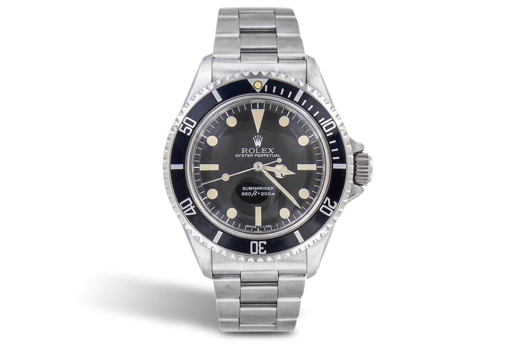 Uhr Rolex freistellen Retusche Version 1