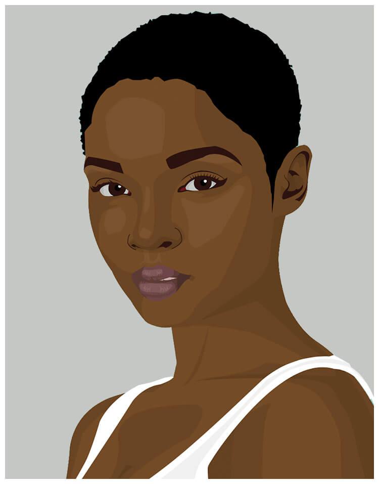 vektorisierung personen illustration freistellen b