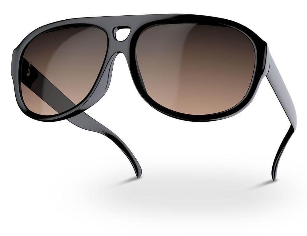 Bildbearbeitung Brillen Sonnenbrille schwarz getönt Schatten