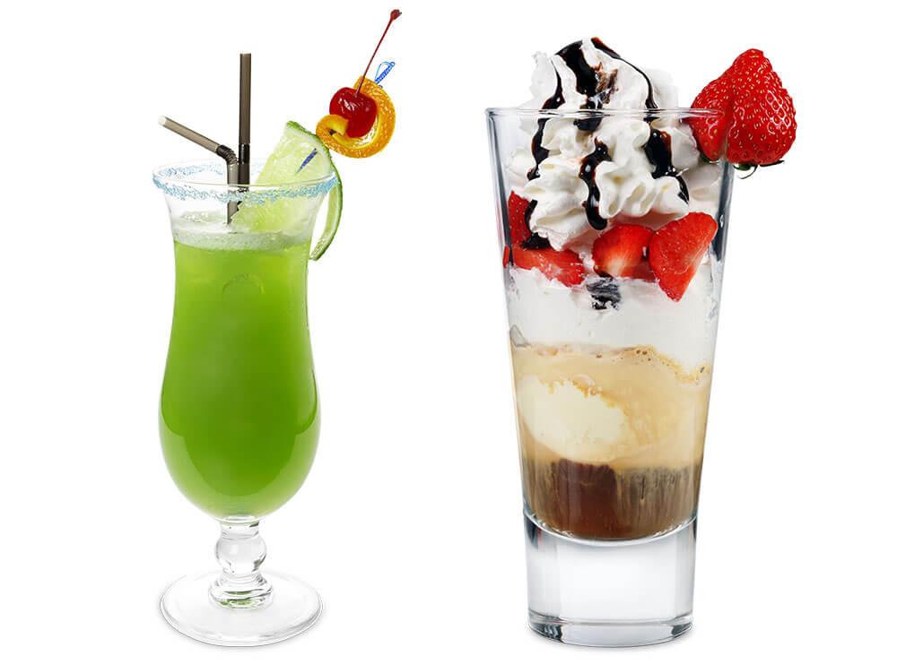 Freistellen Lebensmittel Getränke Cocktails Eiskaffee