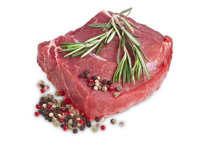 Freistellen Lebensmittel Fleisch Gewürze