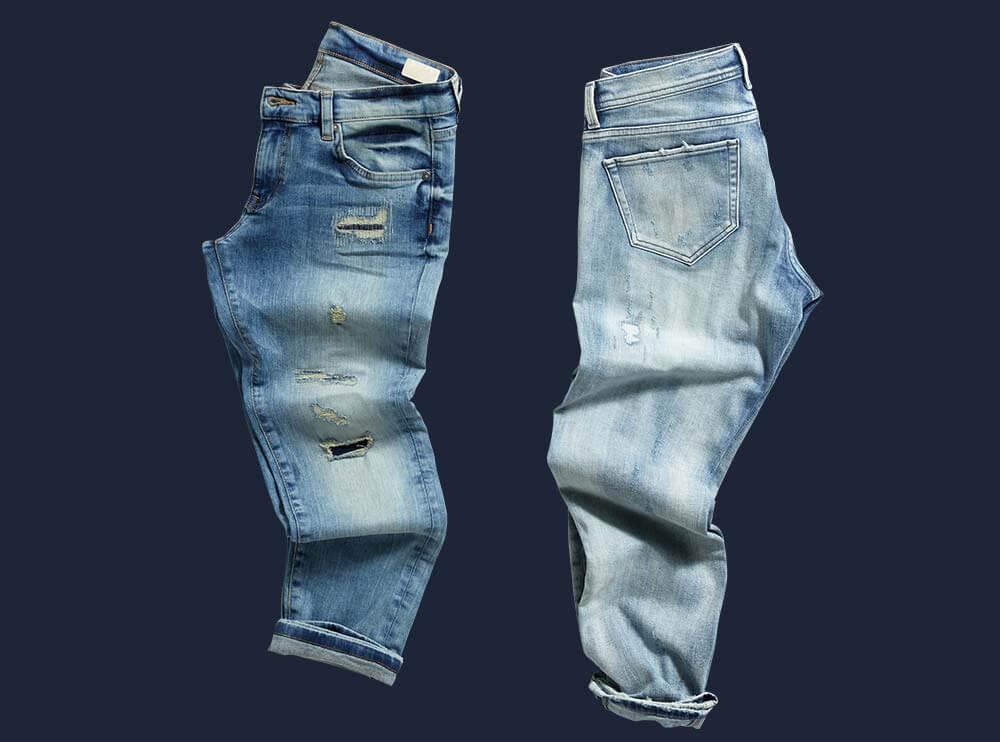 Freistellen Hosen Jeans Bildbearbeitung