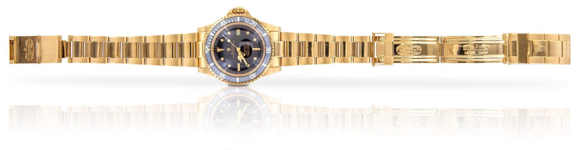 Uhren Schmuck gold lange Gerade liegend gold