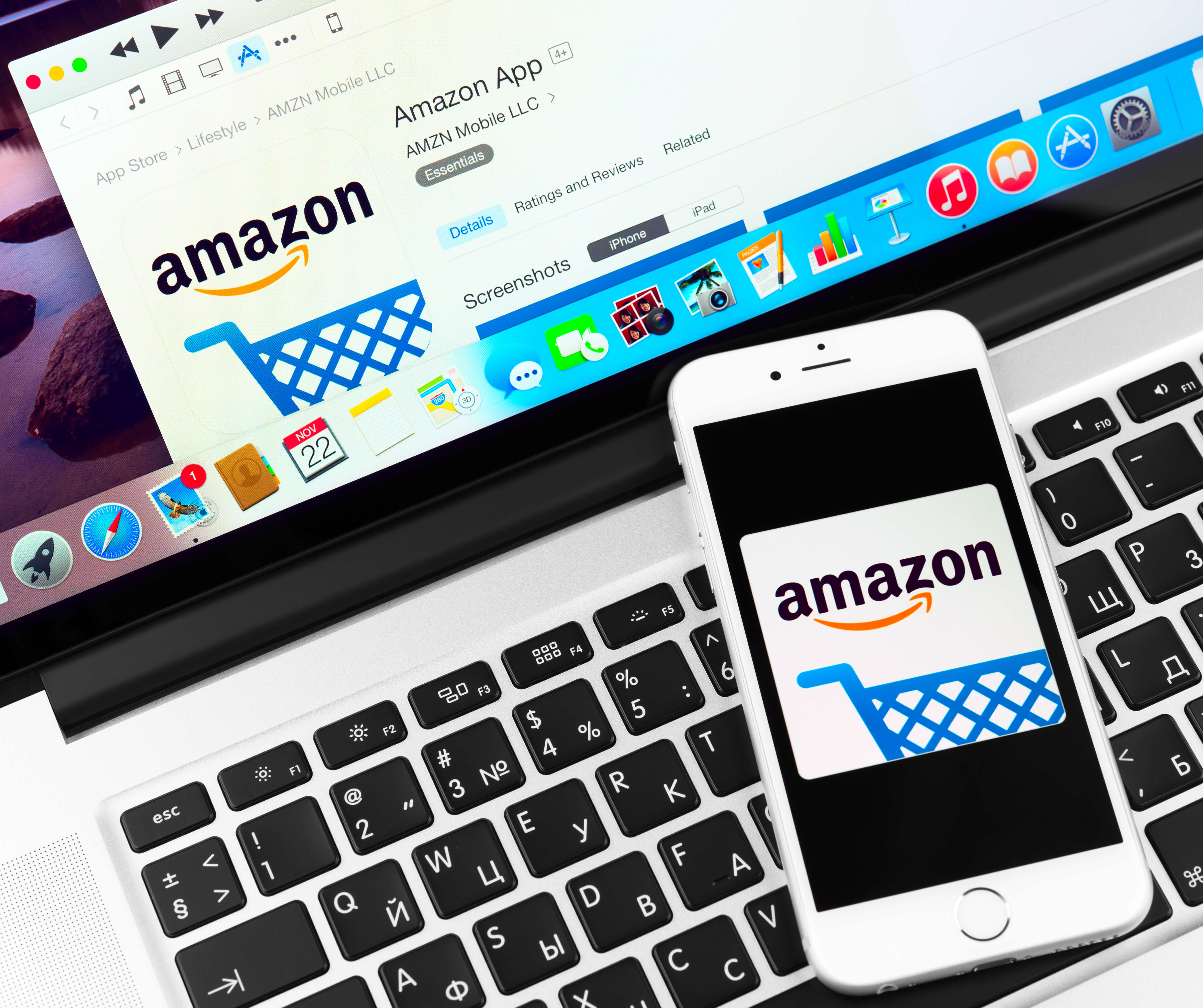 mindestanzahl freheiten always on Amazon amazons shopping kommt Darstellung Handy und Desktop