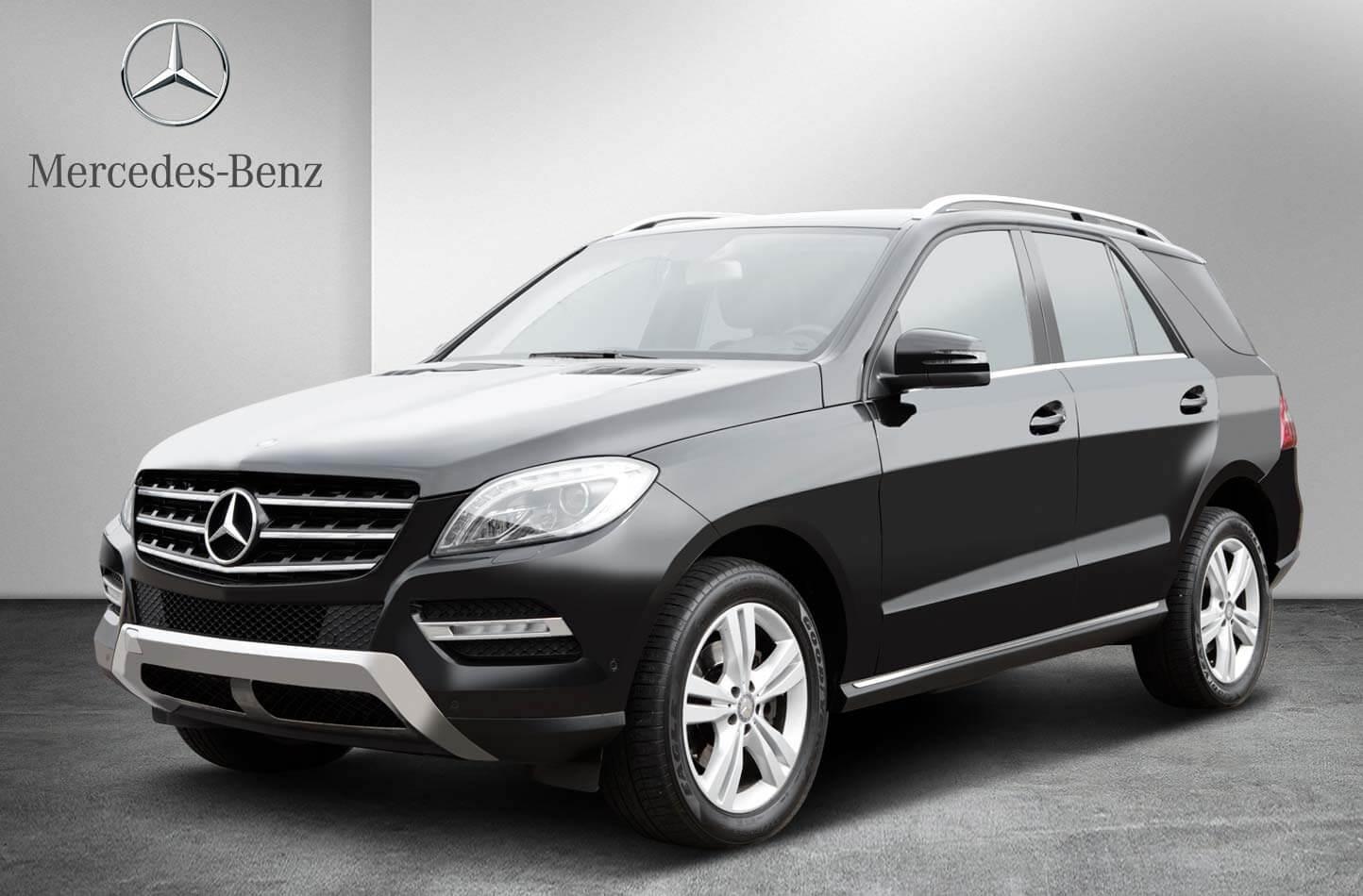 Mercedes Benz freigestellt