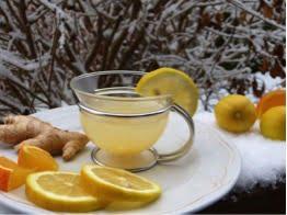Tasse Zitronentee