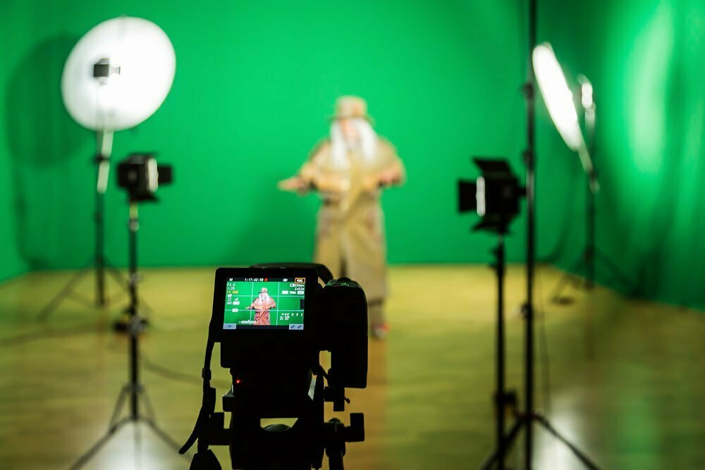 Greenscreen Fotografie