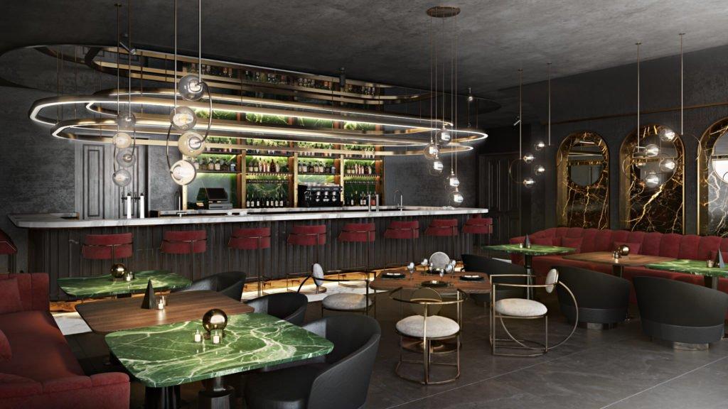 3D Visualisierung Restaurant